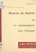 Maurice de Guérin