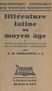 Littérature latine au Moyen Âge