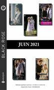Pack mensuel Black Rose : 10 romans + 1 gratuit (Juin 2021)
