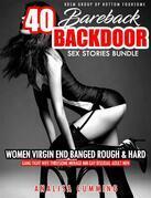 40 Bareback Backdoor Sex Stories Bundle