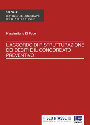 Accordo ristrutturazione debiti e concordato preventivo