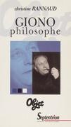 Giono philosophe