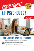 AP®  Psychology Crash Course, For the New 2020 Exam, Book + Online