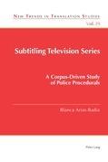 Subtitling Television Series