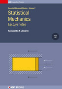 Statistical Mechanics: Lecture notes