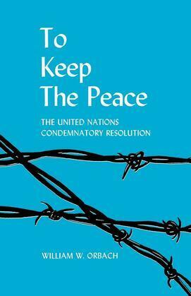 To Keep the Peace