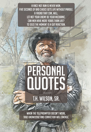 Personal Quotes