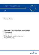 Parental Custody After Separation or Divorce
