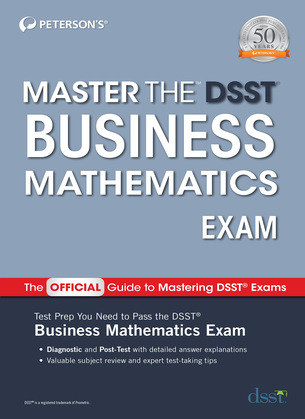 Master the DSST Business Mathematics Exam
