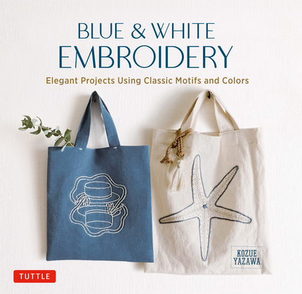 Blue & White Embroidery