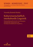 Kulturwissenschaftlich-interkulturelle Linguistik