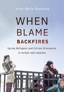 When Blame Backfires