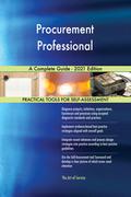 Procurement Professional A Complete Guide - 2021 Edition