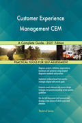 Customer Experience Management CEM A Complete Guide - 2021 Edition