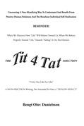The Tit 4 Tat Solution
