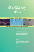 Chief Diversity Officer A Complete Guide - 2021 Edition