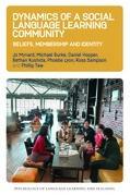 Dynamics of a Social Language Learning Community