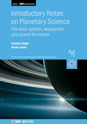 Introductory Notes on Planetary Science