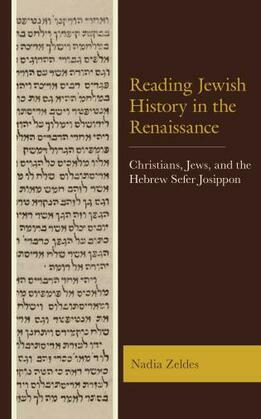 Reading Jewish History in the Renaissance