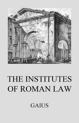 Institutes of Roman Law