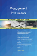 Management Investments A Complete Guide - 2020 Edition