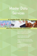 Master Data Services A Complete Guide - 2020 Edition