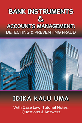 Bank Instruments & Accounts Management: Detecting & Preventing Fraud