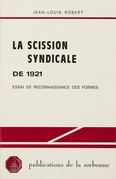 La scission syndicale de 1921