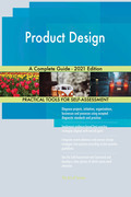 Product Design A Complete Guide - 2021 Edition
