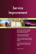 Service Improvement A Complete Guide - 2021 Edition