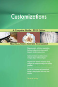 Customizations A Complete Guide - 2021 Edition