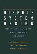 Dispute System Design