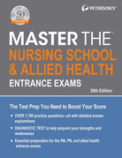 Master the Nursing School & Allied Health Entrance Exams