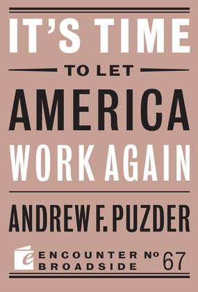 It's Time to Let America Work Again