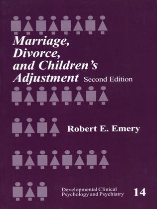 Marriage, Divorce, and Children′s Adjustment