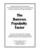 The Barrows Popularity Factor