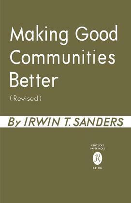 Making Good Communities Better