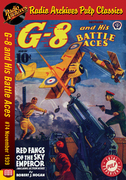 G-8 and His Battle Aces #74 November 1939 Red Fangs of the Sky Emperor