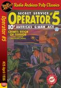 Operator #5 eBook #25 Crime's Reign of Terror