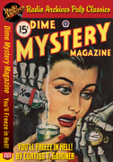 Dime Mystery Magazine - You'll Freeze in Hell