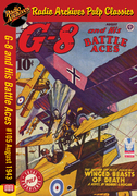 G-8 and His Battle Aces #105 August 1943 Winged Beasts of Death