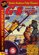 G-8 and His Battle Aces #104 June 1943 Scourge of the Sky Monster