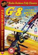G-8 and His Battle Aces #107 December 1943 The Wings of the Iron Claw