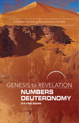 Genesis to Revelation: Numbers, Deuteronomy Participant Book