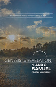 Genesis to Revelation: 1 and 2 Samuel Participant Book