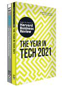 HBR's Year in Business and Technology: 2021 (2 Books)