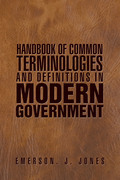 Handbook of Common Terminologies and Definitions in Modern Government