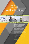 CIAM Authentication A Complete Guide - 2020 Edition