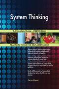 System Thinking A Complete Guide - 2020 Edition