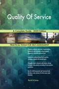 Quality Of Service A Complete Guide - 2020 Edition